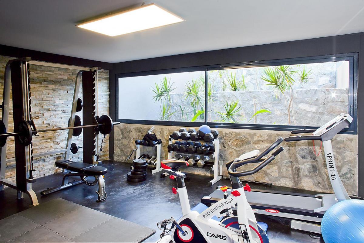 Villa Emvie - Salle de fitness