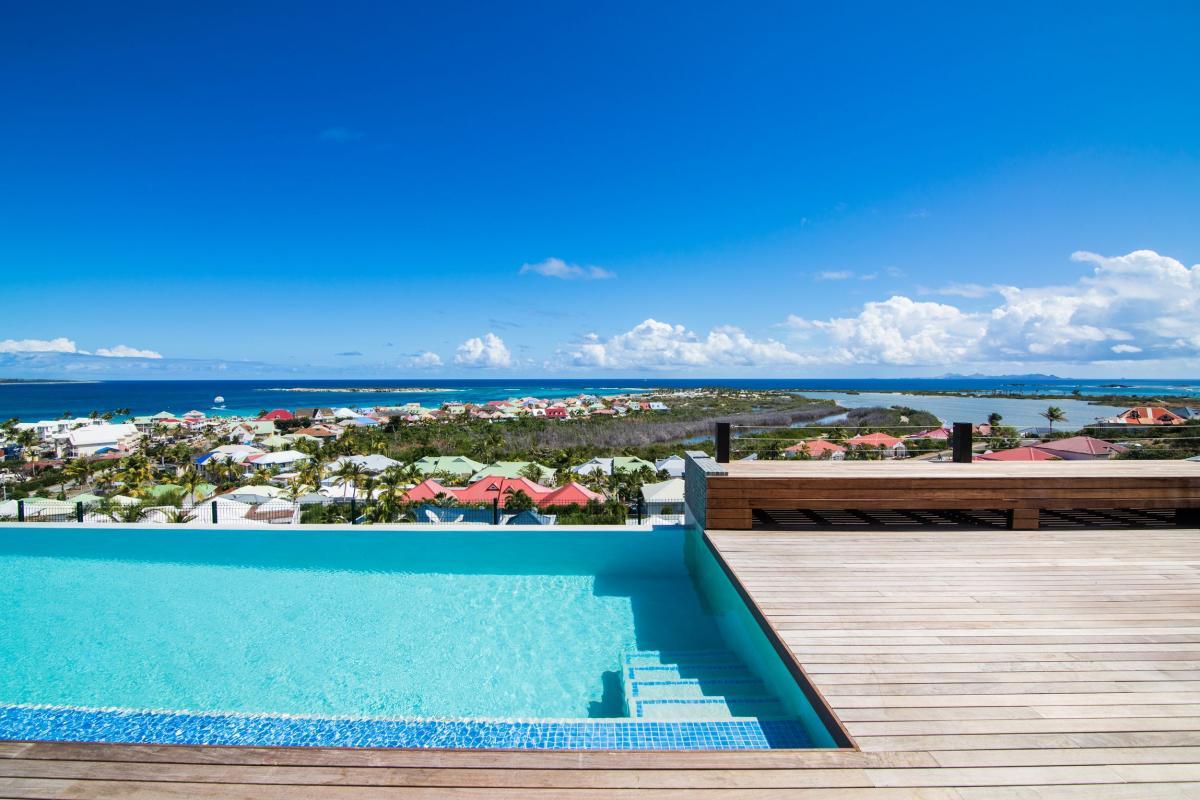 Villa mango - La piscine