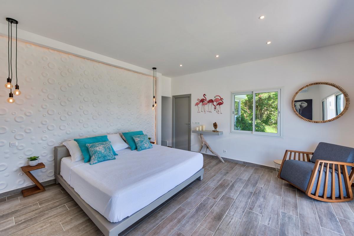 Location villa de luxe Saint Martin, Baie Orientale - Chambre 1
