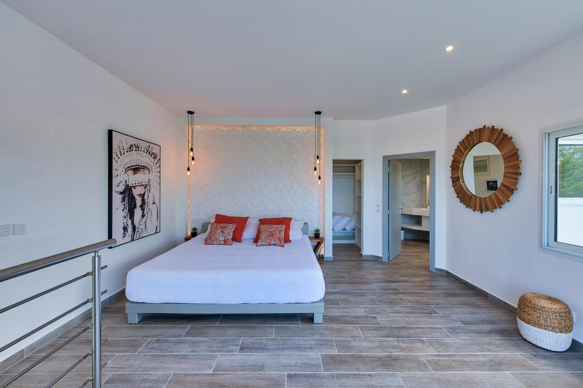 Location villa de luxe Saint Martin, Baie Orientale - Chambre 2
