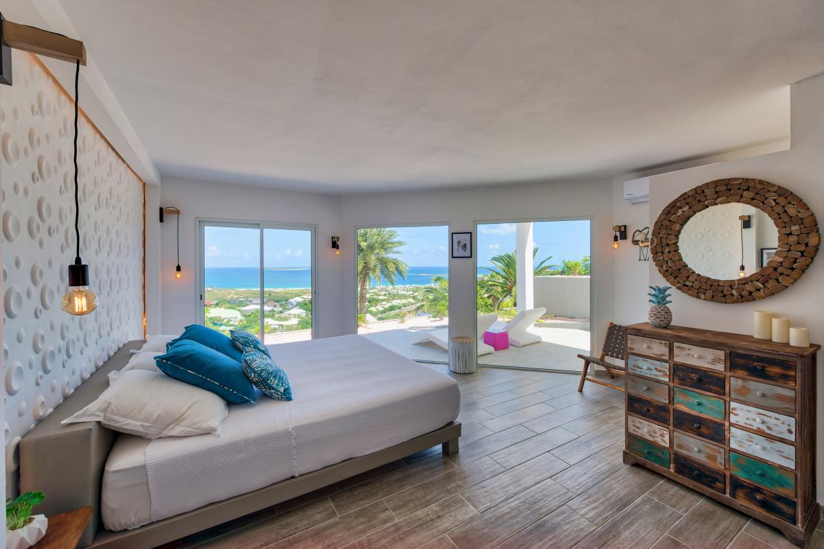 Location villa de luxe Saint Martin, Baie Orientale - Chambre 3