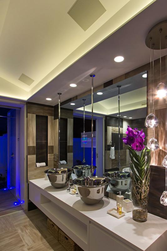Location villa de luxe Saint Martin, Terres Basses  - SDB chambre 1