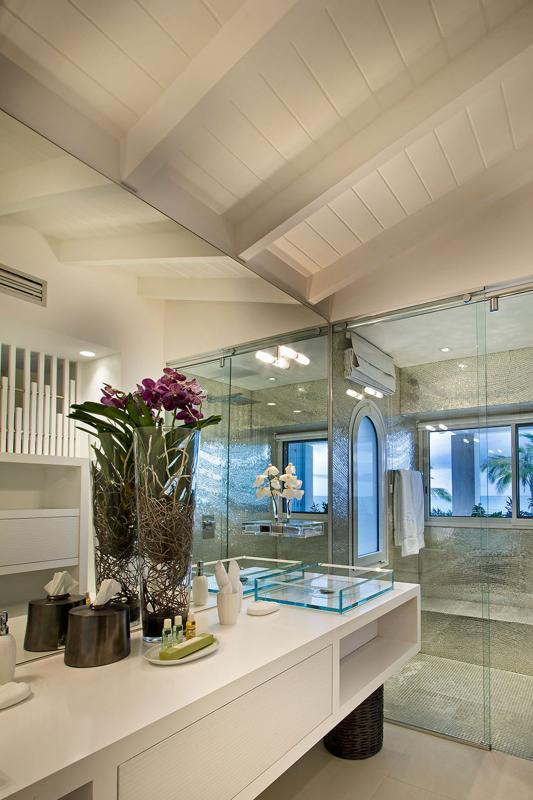 Location villa de luxe Saint Martin, Terres Basses  - SDB chambre 2