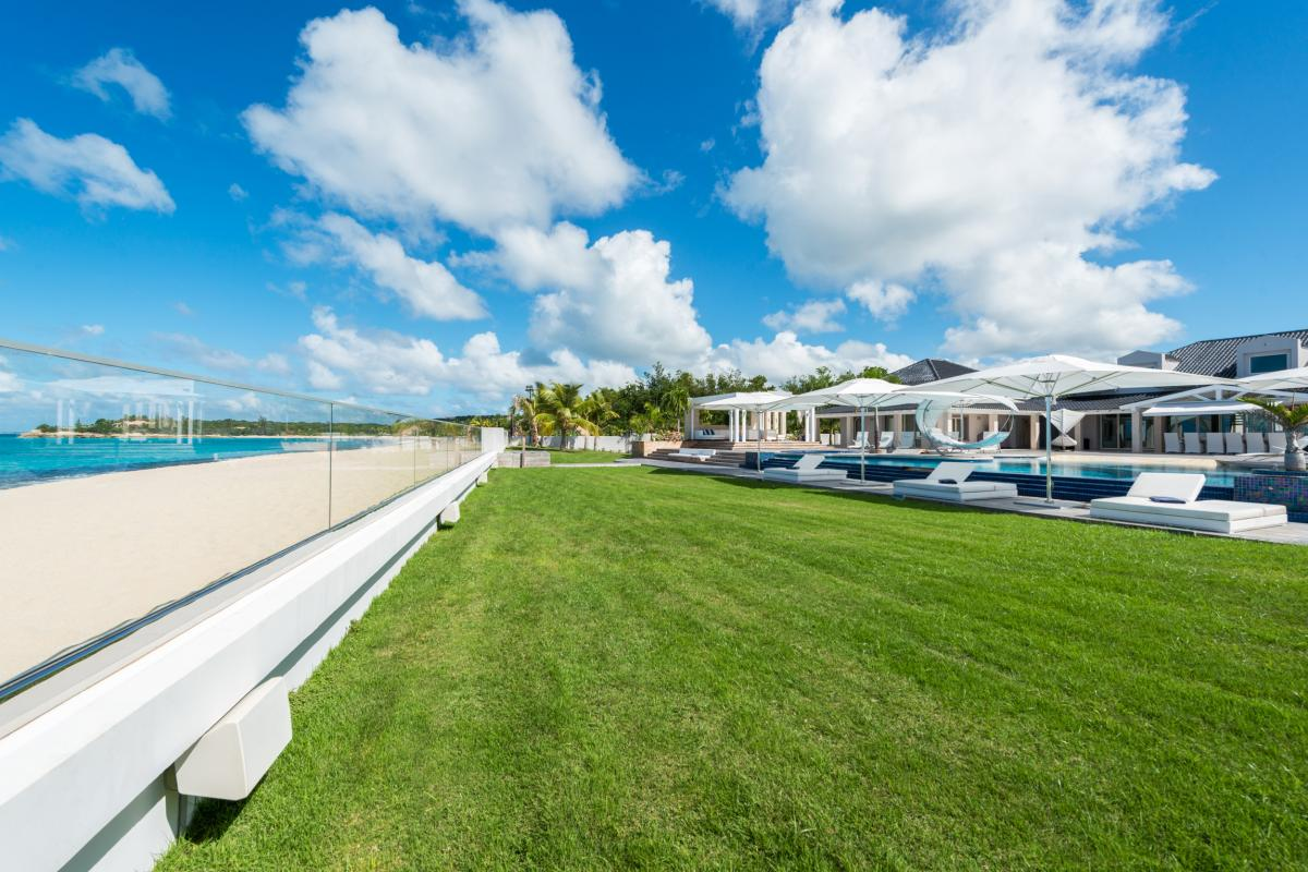 Location villa de luxe Saint Martin, Terres Basses  - Vue d'ensemble