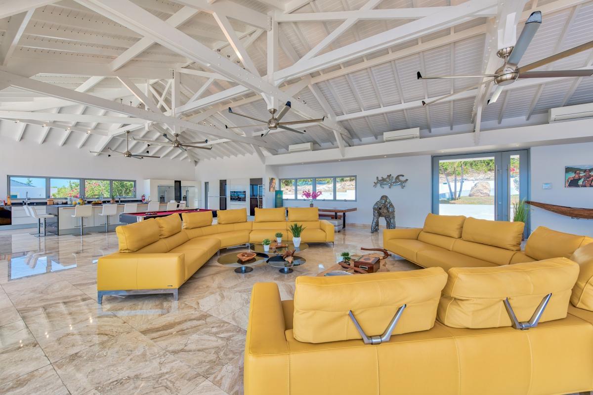 Villa Grande Azure - Le séjour