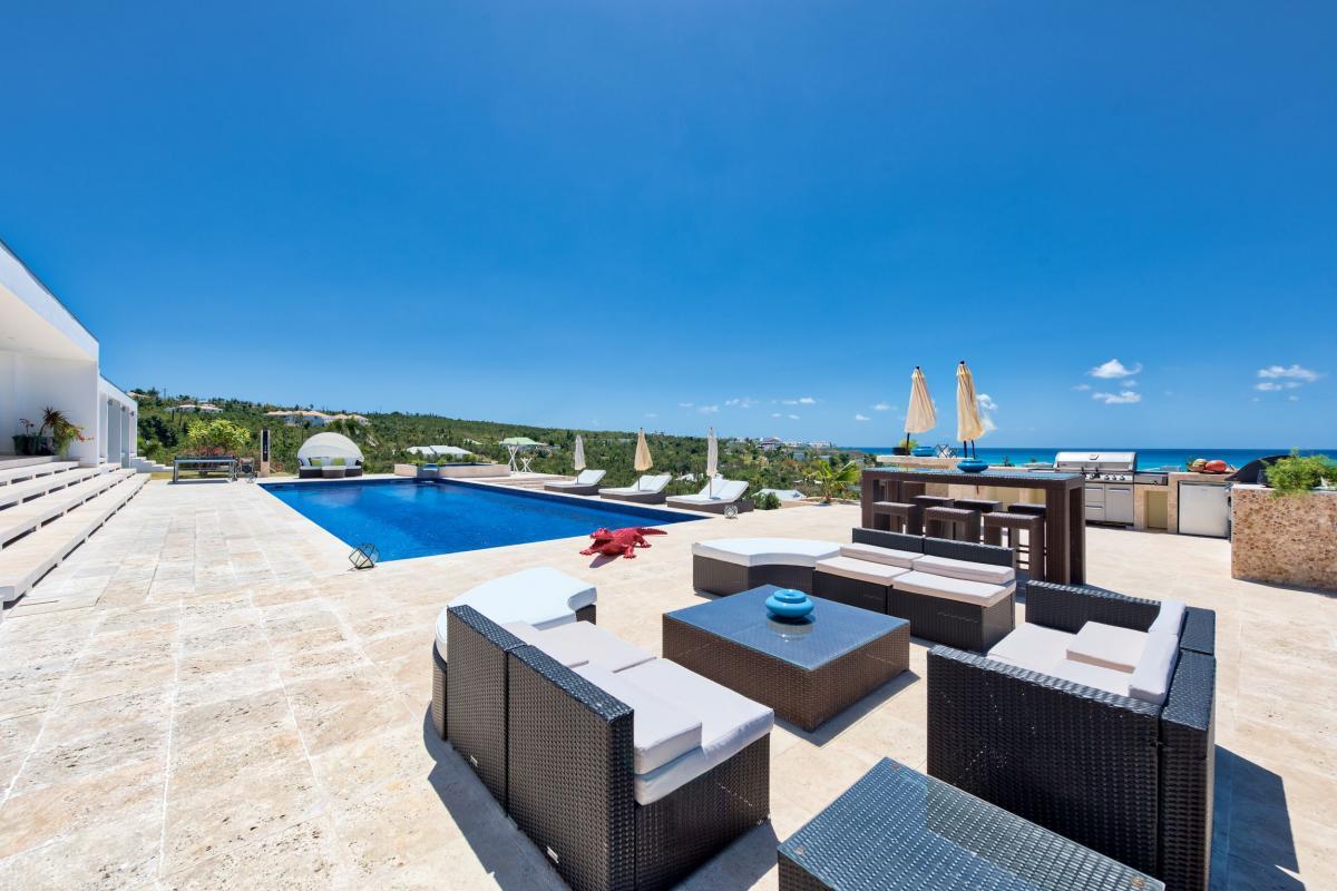 Villa Grande Azure - Terrasse