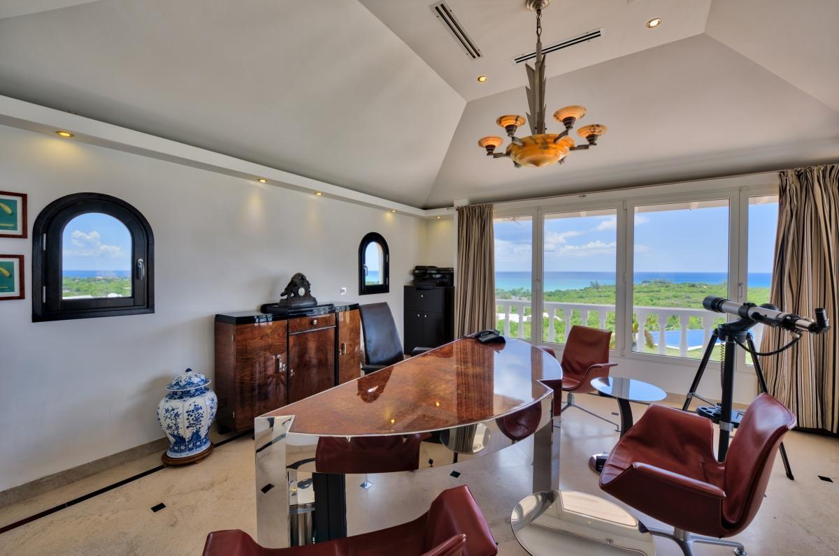 Location villa de luxe Saint Martin, Terres Basses - Bureau