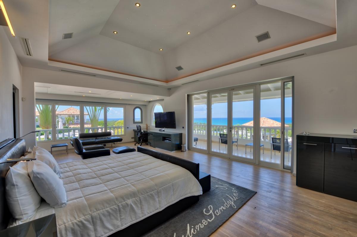 Location villa de luxe Saint Martin, Terres Basses - Chambre 1