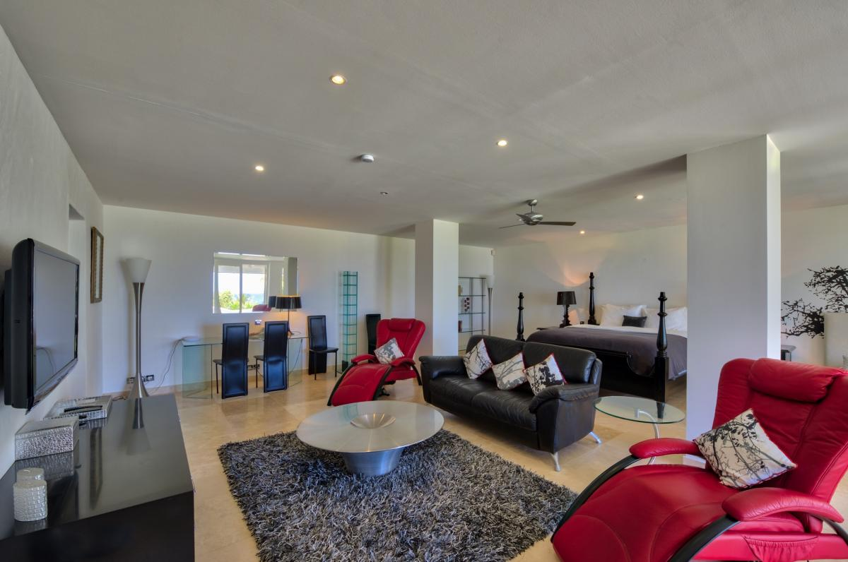 Location villa de luxe Saint Martin, Terres Basses - Chambre 2