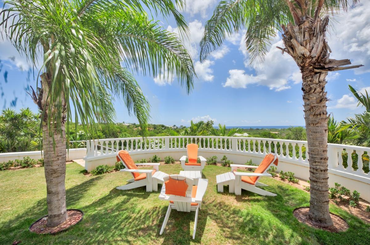 Location villa de luxe Saint Martin, Terres Basses - Jardin