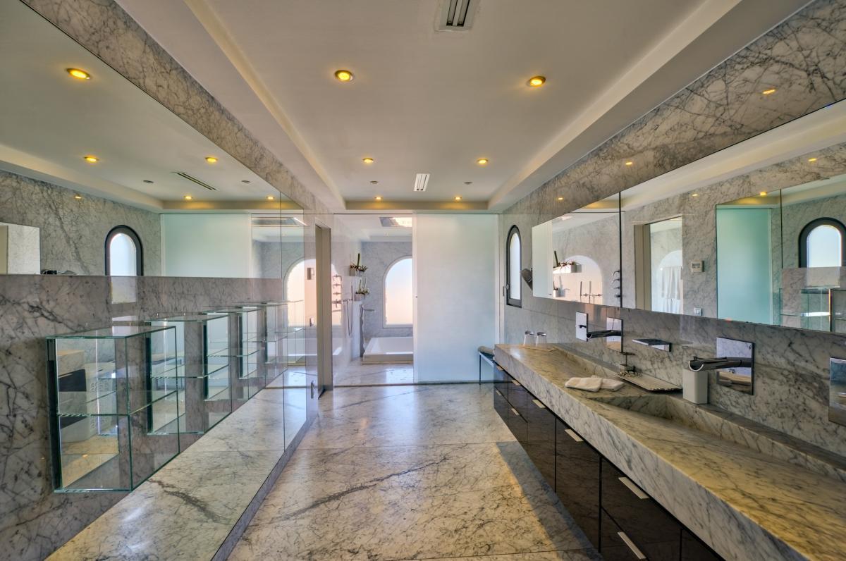 Location villa de luxe Saint Martin, Terres Basses - Salle de bain chambre 1