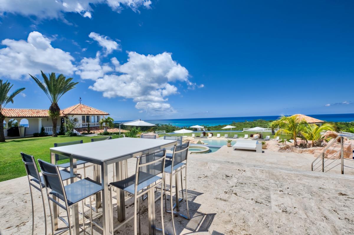 Location villa de luxe Saint Martin, Terres Basses - Villa