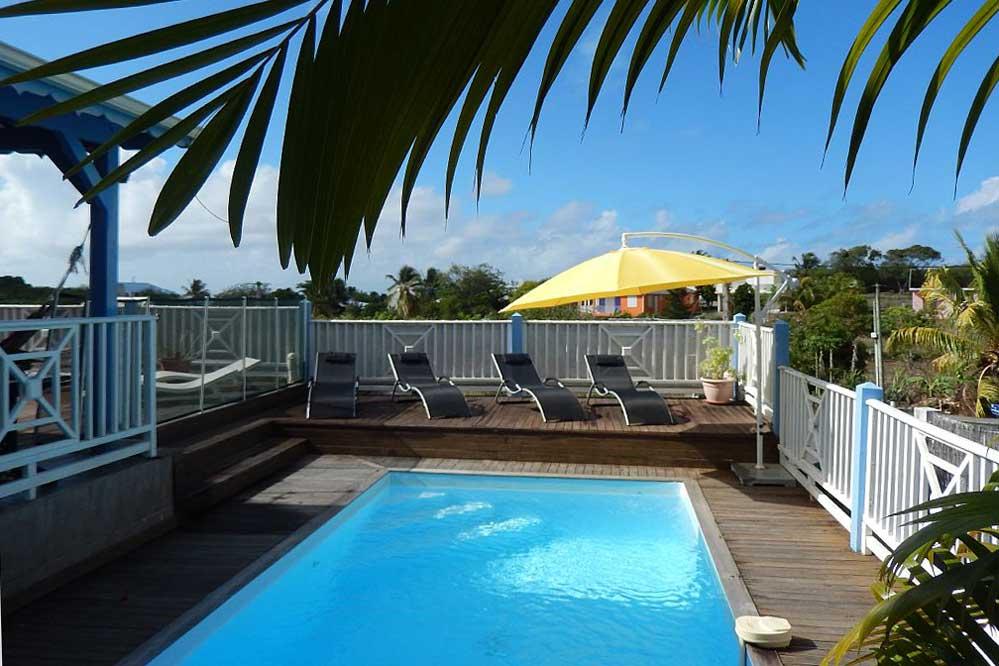 Location Villa Sainte Anne Guadeloupe Piscine 5 Chambres