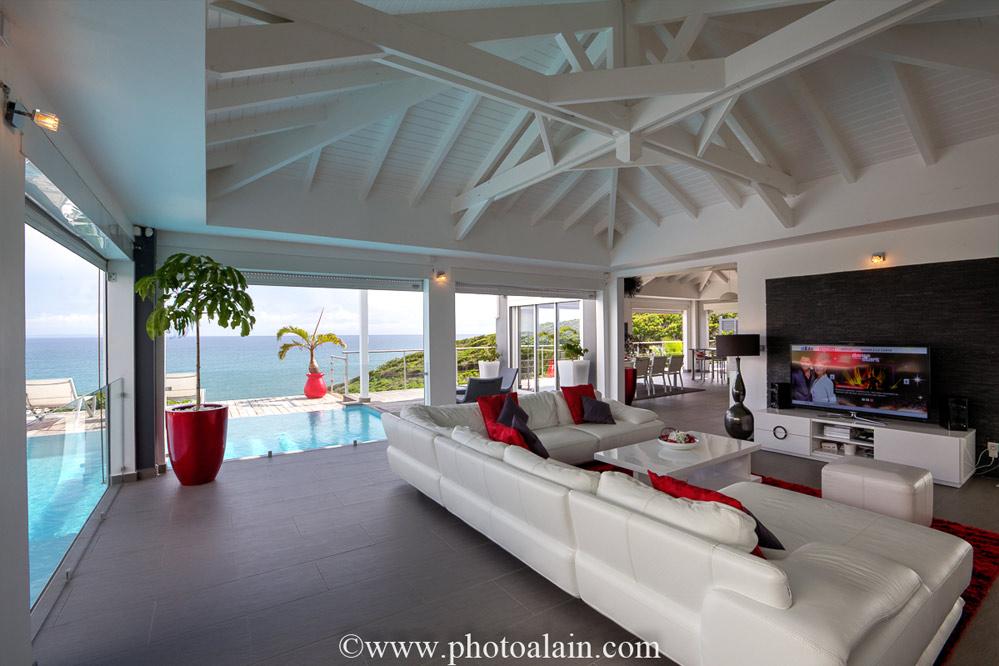 location villa prestige guadeloupe villa paradise 5 personnes. Black Bedroom Furniture Sets. Home Design Ideas