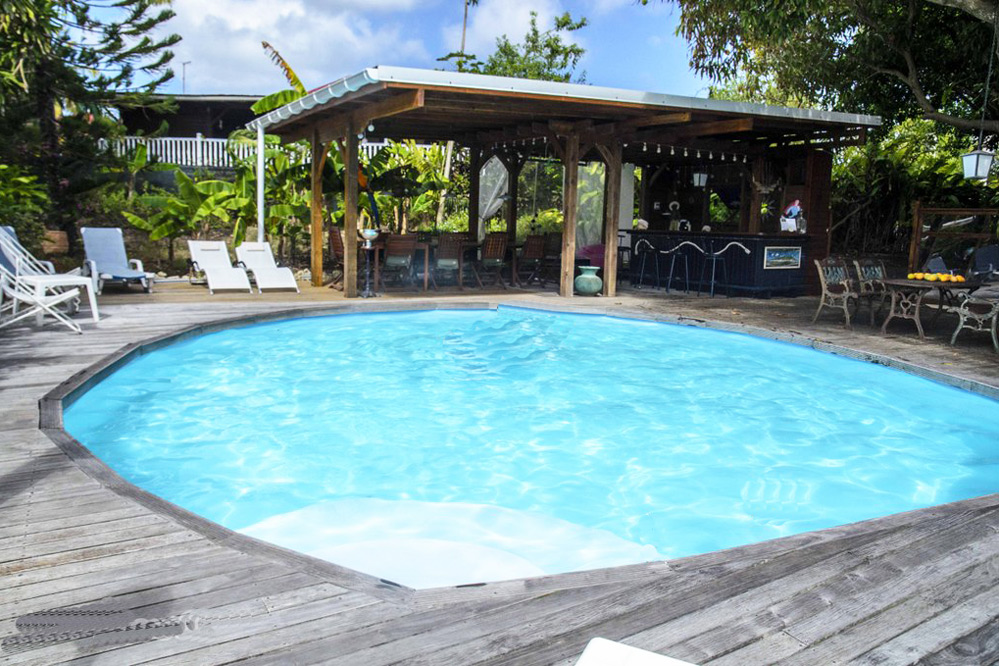 Location villa saint francois guadeloupe piscine 8 personnes for Location villa piscine