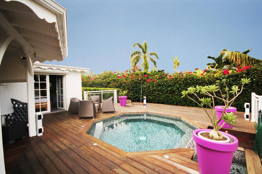 Villa golf guadeloupe piscine 6 personnes saint fran ois for Location ariege avec piscine