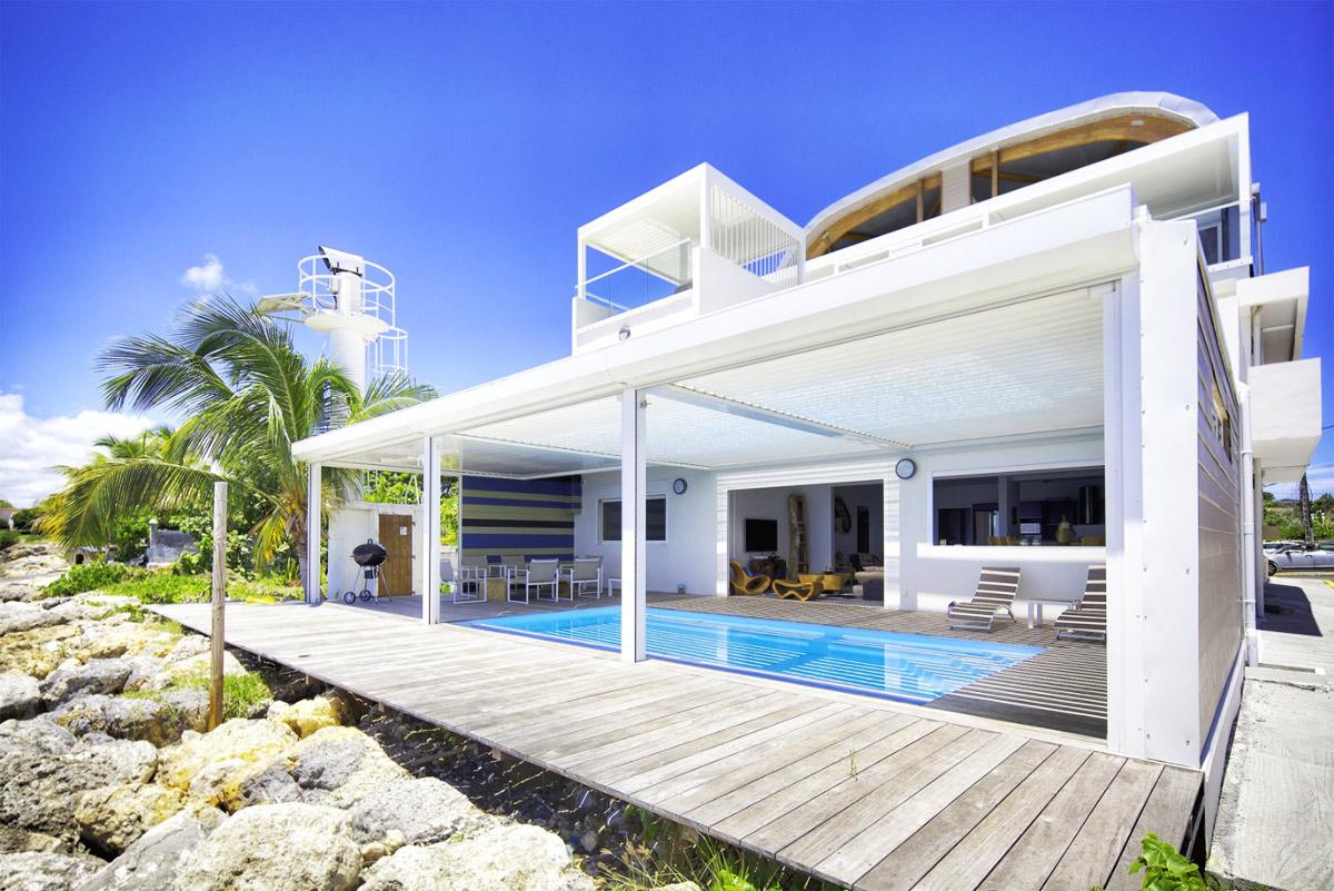 Location guadeloupe appartement de prestige avec piscine for Recherche une chambre a louer