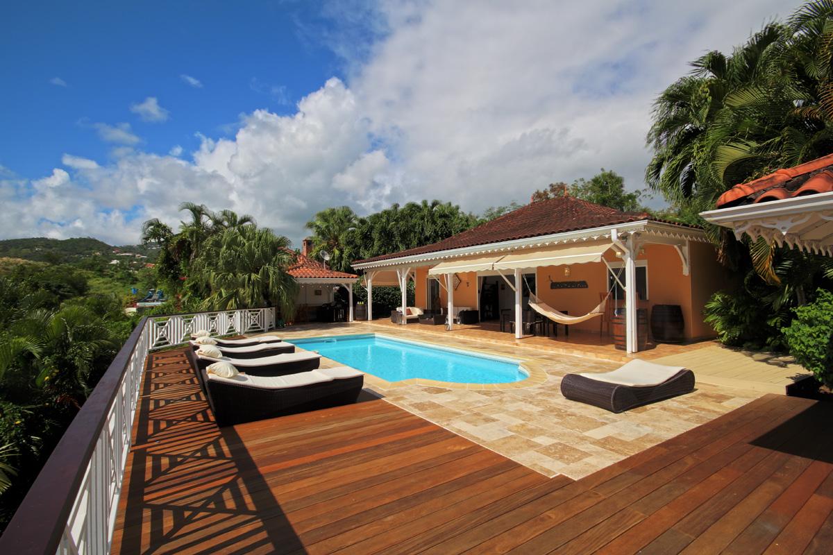 Location Villa Luxe Martinique 6 Personnes Piscine Vue Mer Le Diamant