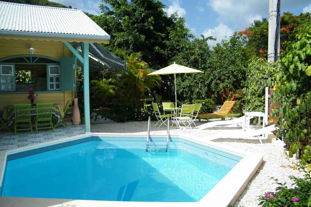 Location villa charme martinique 8 personnes le diamant - Location villa piscine martinique ...