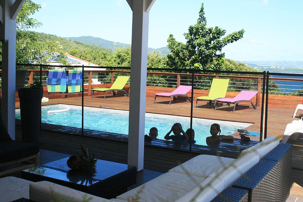 Location martinique villa de standing avec piscine et - Location villa piscine martinique ...