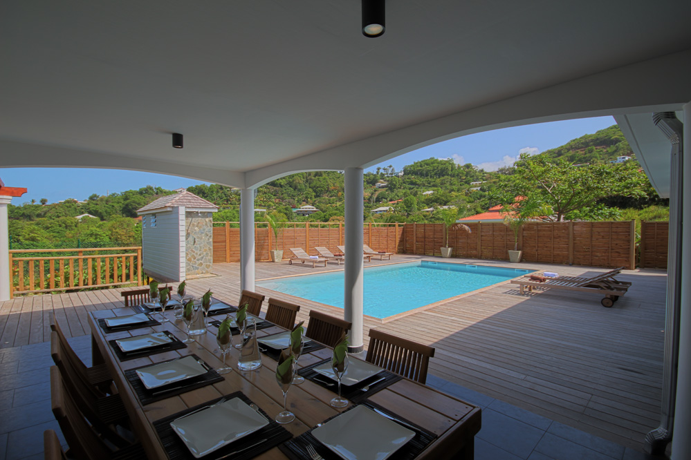Location villa luxe le fran ois martinique for Villa piscine martinique