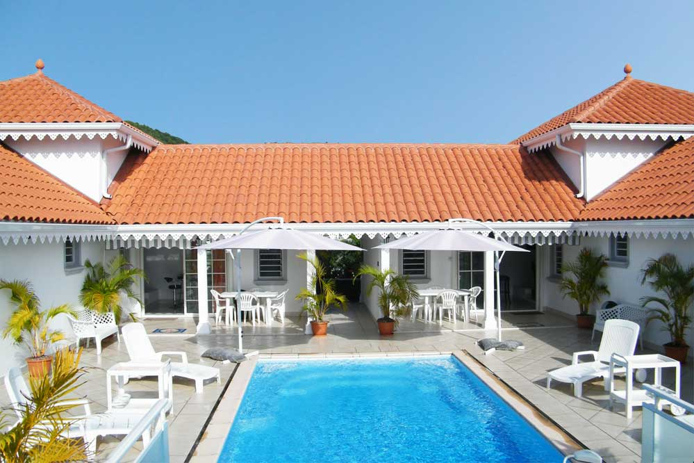 Location villa luxe sainte luce martinique piscine 16 personnes - Office du tourisme martinique sainte luce ...