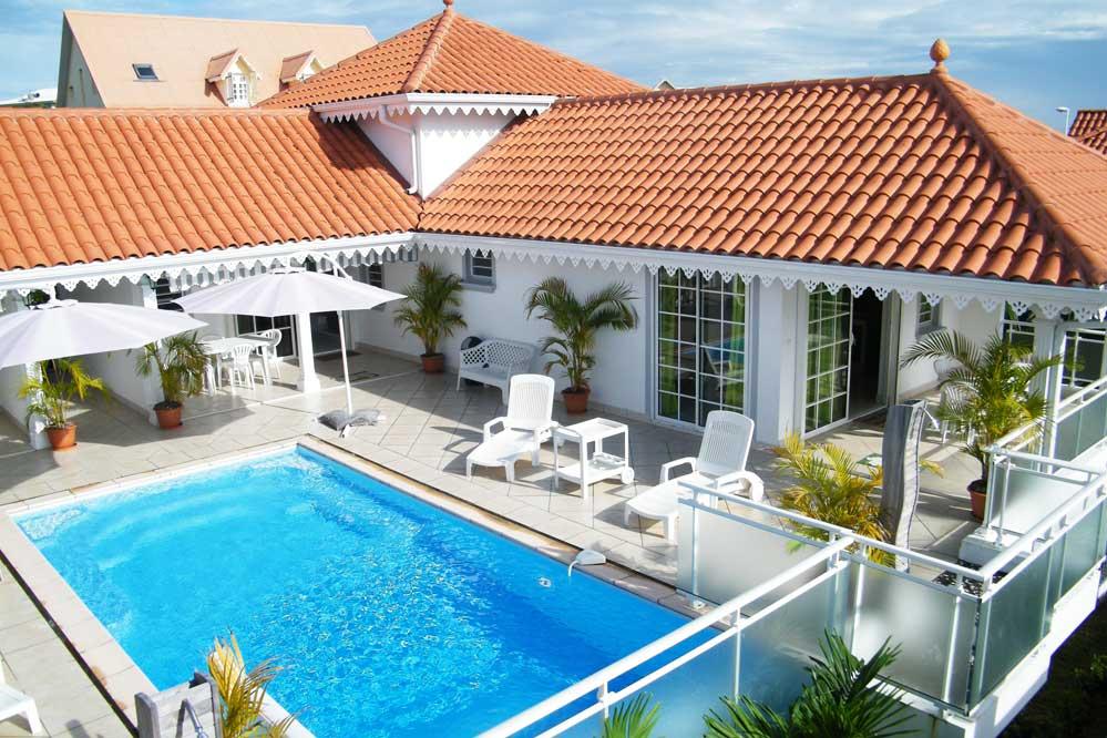 Location villa luxe sainte luce martinique piscine 16 personnes for Location maison de vacances de luxe