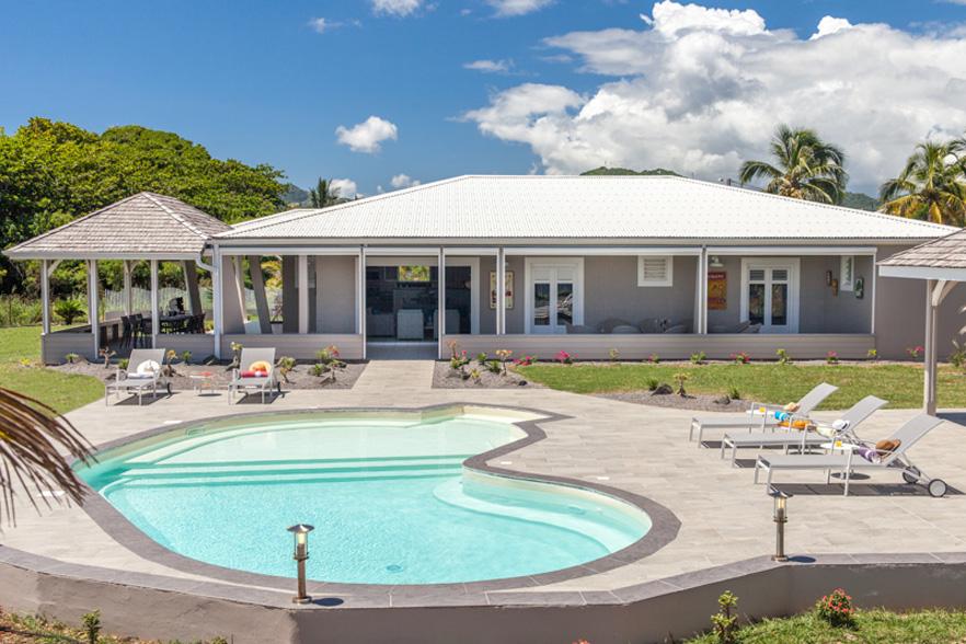 bungalow villa luxe beach - Ecosia